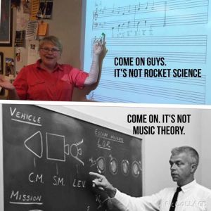 Music Theory - Rocket Science