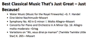 Best Classical Music That's Just Great – Just Because!